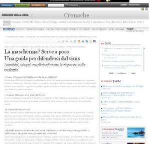 Consigli contro l'influenza su Corriere.it
