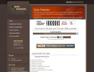 Provate l'esame per la patente su QuizPatente.info