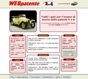 Prova i quiz e ripassa la teoria per la patente con WebPatente