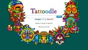 "Il motore di ricerca Tattoodle in versione ""azteca"""