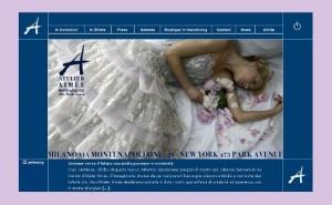 Gli abiti da sposa dell'atelier Aimée