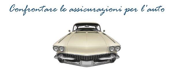 Confrontare le assicurazioni per l'automobile