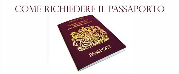 Come richiedere il rilascio o il rinnovo del passaporto
