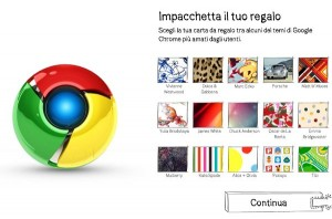 Regala Chrome per Natale