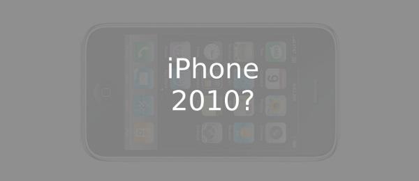 Novità sull'iPhone 2010
