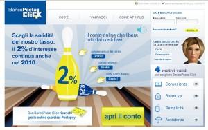 Conto BancoPosta Click