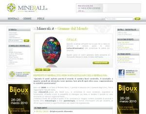 Gemme da tutto il mondo su Minerali.it