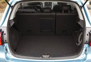 Il bagagliaio della Mitsubishi ASX