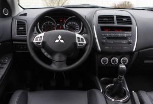 Gli interni della Mitsubishi ASX