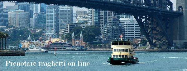 Prenotazioni online di traghetti