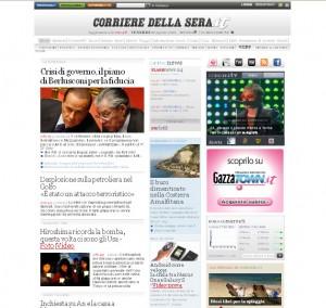 Quotidiani italiani: Corriere della Sera