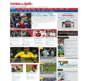 Quotidiani italiani: Corriere dello Sport