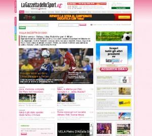 Quotidiani italiani: La Gazzetta dello Sport