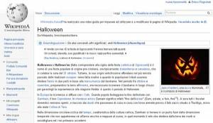 Halloween su Wikipedia