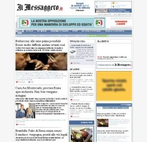 Quotidiani italiani: Il Messaggero