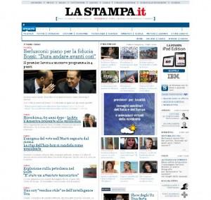 Quotidiani italiani: La Stampa