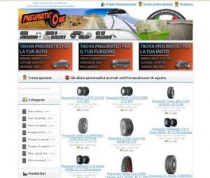 Vendita di pneumatici online su PneumaticOne