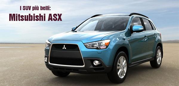 Una raccolta di video della Mitsubishi ASX