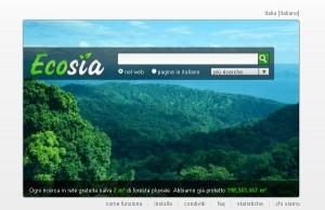 """Ecosia, il motore di ricerca """"ecologico"""""""