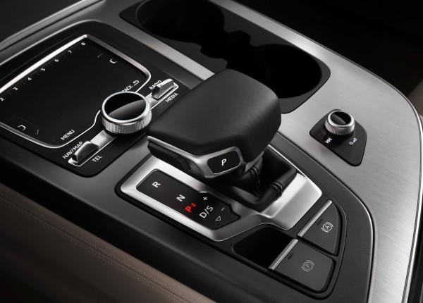 Audi Q7 - la leva del cambio automatico