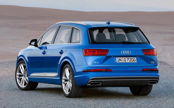 Audi Q7 - il posteriore