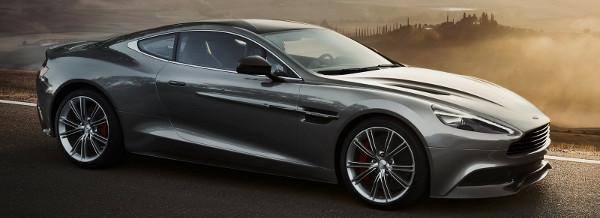 Foto della nuova sportiva di lusso Aston Martin Vanquish