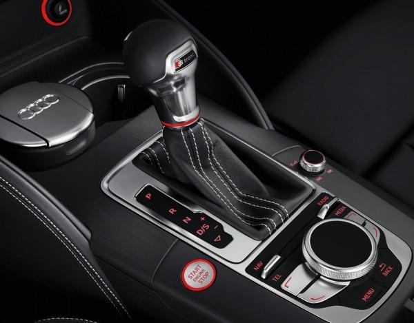 Audi S3 - leva del cambio S Tronic