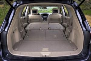 Nuova Nissan Pathfinder - lo spazioso bagagliaio
