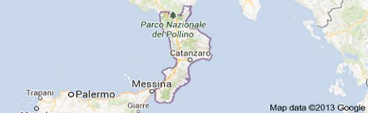 La banca d'Italia in Calabria