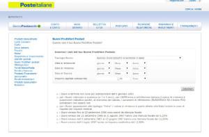 Il servizio di Poste Italiane che permette di calcolare il valore dei BFP