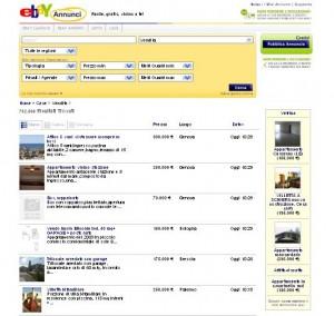 Comprare e vendere case online for Siti di case in affitto