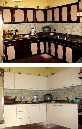 Come rinnovare la cucina - Come rinnovare una cucina in legno ...