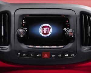 Il sistema multimediale della 500L