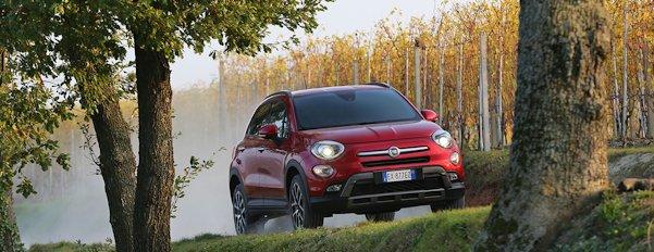Foto del nuovo SUV compatto Fiat 500X