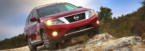Foto ufficiali della nuova Nissan Pathfinder
