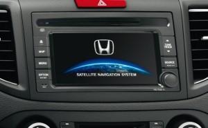 Honda CR-V 2013 - il sistema multimediale (radio, navigatore, etc)