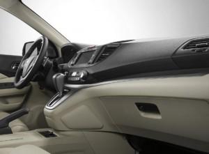 La plancia della nuova Honda CR-V