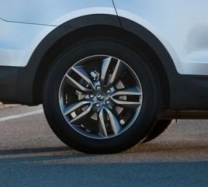Hyundai Santa Fe - cerchio in lega