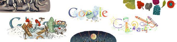 Tutti i loghi più originali di Google