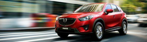 Foto del nuovo SUV compatto Mazda CX5