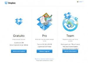 I migliori cloud: Dropbox