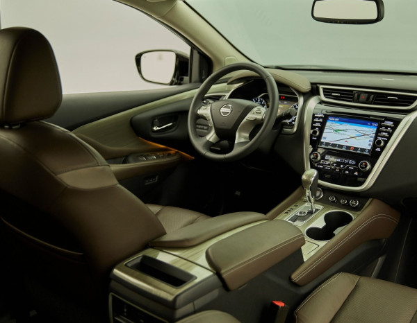 Nuova Nissan Murano - gli interni