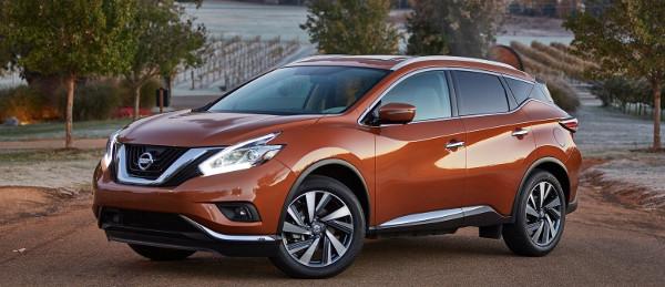 Foto del nuovo SUV Nissan Murano