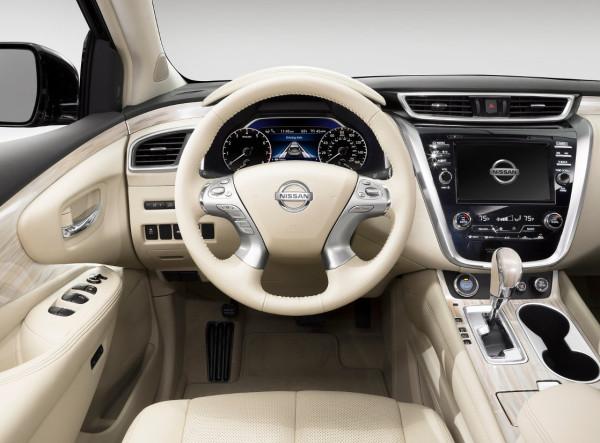 Nissan Murano 2015 - gli interni