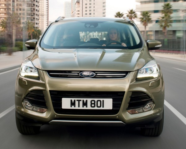 Nuova Ford Kuga - il frontale
