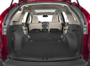 L'ampio bagagliaio della Honda CR-V 2013