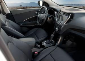 Gli interni della nuova Hyundai Santa Fe