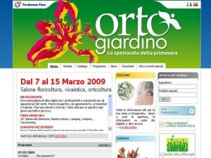 Il sito ufficiale di OrtoGiardino - fiera del giardinaggio a Pordenone