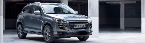 Il nuovo SUV compatto Peugeot 4008