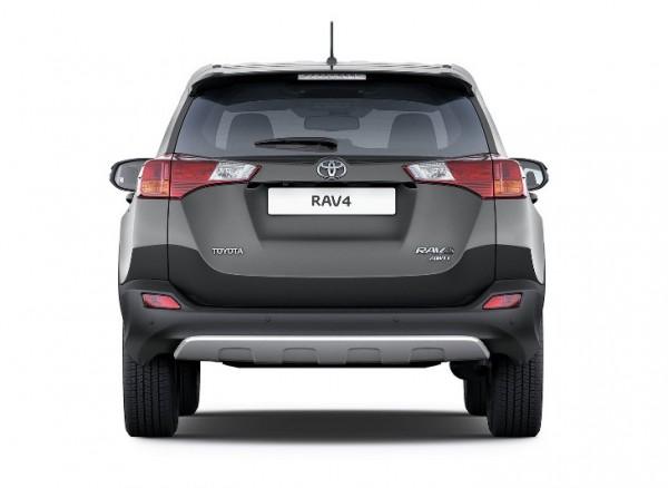 """Il """"posteriore"""" della nuova Toyota RAV4"""